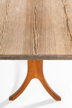 Carl Malmsten Bench and Dining Table Produced in Sweden - 1860718