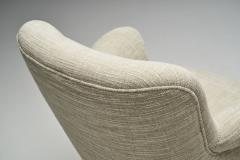 Carl Malmsten Carl Malmsten Upholstered Armchairs for O H Sj gren Sweden 1960s - 2079151