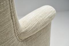 Carl Malmsten Carl Malmsten Upholstered Armchairs for O H Sj gren Sweden 1960s - 2079155