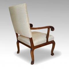 Carl Malmsten Fine Pair of Carved Chairs by Carl Malmsten and Hjalmar Jackson - 1902699