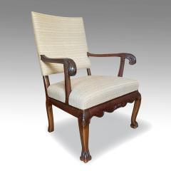 Carl Malmsten Fine Pair of Carved Chairs by Carl Malmsten and Hjalmar Jackson - 1902700