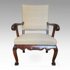 Carl Malmsten Fine Pair of Carved Chairs by Carl Malmsten and Hjalmar Jackson - 1902701