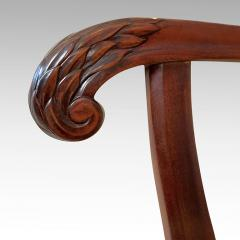 Carl Malmsten Fine Pair of Carved Chairs by Carl Malmsten and Hjalmar Jackson - 1902703