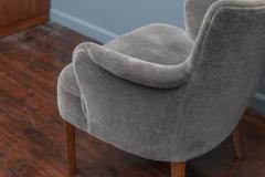 Carl Malmsten Mid Century Modern Lounge Chairs Swedish - 1774652