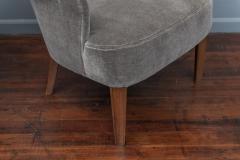 Carl Malmsten Mid Century Modern Lounge Chairs Swedish - 1774654