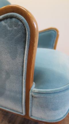 Carl Malmsten Pair of Carl Malmsten Lounge chairs - 767102