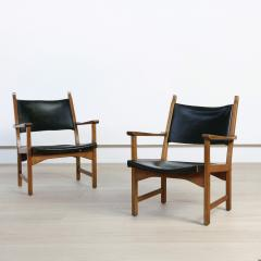 Carl Malmsten Pair of Caryngo Chairs by Carl Malmsten and Yngve Ekstr m - 1796394
