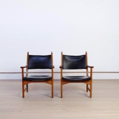 Carl Malmsten Pair of Caryngo Chairs by Carl Malmsten and Yngve Ekstr m - 1796395