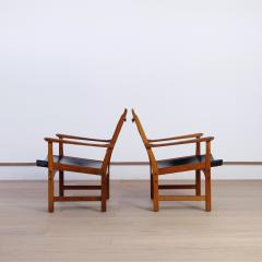 Carl Malmsten Pair of Caryngo Chairs by Carl Malmsten and Yngve Ekstr m - 1796399