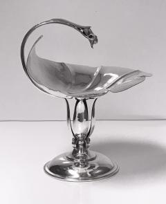 Carl Poul Petersen Carl Paul Petersen Sterling Silver Large Compote Montreal C 1940 - 1142576