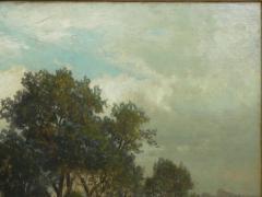 Carl Weber Bamberg Bavaria 1880 Pastoral Landscape Painting by Carl Weber - 1117279