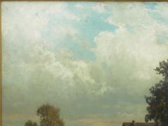Carl Weber Bamberg Bavaria 1880 Pastoral Landscape Painting by Carl Weber - 1117280