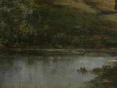 Carl Weber Bamberg Bavaria 1880 Pastoral Landscape Painting by Carl Weber - 1117285