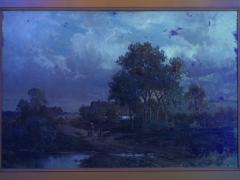 Carl Weber Bamberg Bavaria 1880 Pastoral Landscape Painting by Carl Weber - 1117289