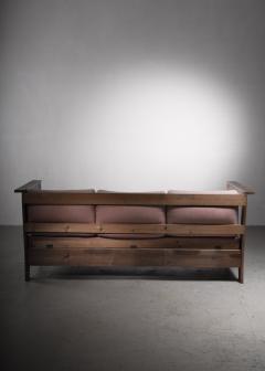 Carl Westman Carl Westman pine Art Nouveau sofa - 2068572