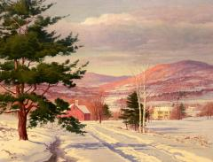 Carl Wuermer Afternoon Light Winter Village - 1184345