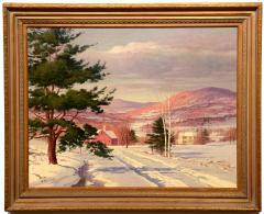 Carl Wuermer Afternoon Light Winter Village - 1184346