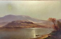 Carleton Wiggins Luminist Landscape Oil Painting signed by Carleton Wiggins - 1169149
