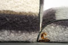 Carlo Bartoli Carlo Bartoli Rossi di Albizzate Chaise Longue Reupholstered in Dedar Oz Fabric - 1502356
