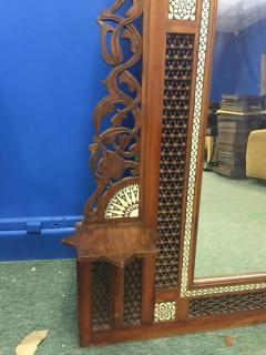 Carlo Bugatti Monumental Moorish Mirror in the Manner of Carlo Bugatti - 417866