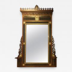 Carlo Bugatti Monumental Moorish Mirror in the Manner of Carlo Bugatti - 419256