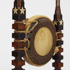 Carlo Bugatti Rare Mosque chair by Carlo Bugatti - 1397666