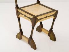 Carlo Bugatti Rare and Unusual Form Chair by Carlo Bugatti - 342910