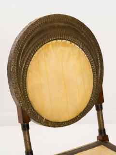 Carlo Bugatti Rare and Unusual Form Chair by Carlo Bugatti - 342915