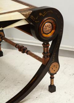 Carlo Bugatti Style Writing Desk with Chair - 1044209