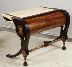 Carlo Bugatti Style Writing Desk with Chair - 1044213