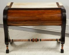 Carlo Bugatti Style Writing Desk with Chair - 1044214