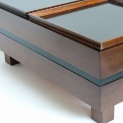 Carlo Hauner Carlo Hauner Large Coffee Table with Various Compartments for Forma Italy 1960s - 1528812