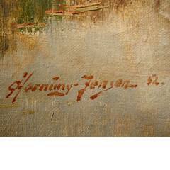 Carlo Hornung Jensen Painting - 326937