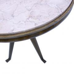 Carlo Mollino Pair Of Attribuited Carlo Mollino Ashwood Italian Side Tables - 1544976