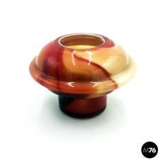 Carlo Moretti Red Murano glass vases by Carlo Moretti 1970s - 2004048