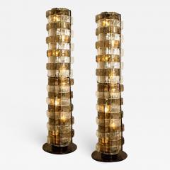 Carlo Nason 1 of the 2 Floor Lamps by Carlo Nason Italy circa 1969 - 1318599