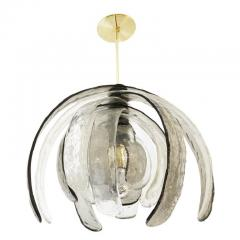 Carlo Nason Artichoke Murano Glass Chandelier by Mazzega - 1108187