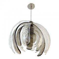 Carlo Nason Artichoke Murano Glass Chandelier by Mazzega - 2070299