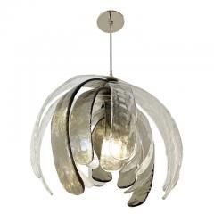 Carlo Nason Artichoke Murano Glass Chandelier by Mazzega - 2070301