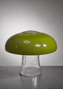 Carlo Nason Carlo Nason Green glass table lamp - 1233575