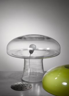 Carlo Nason Carlo Nason Green glass table lamp - 1233576