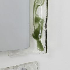Carlo Nason Carlo Nason Murano glass mirror shelf Mazzega Italy 1970s - 1121771
