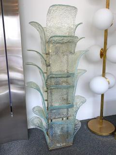 Carlo Nason Floor Lamp Cactus LT 320 by Carlo Nason for Mazzega Murano 1970s - 1035357
