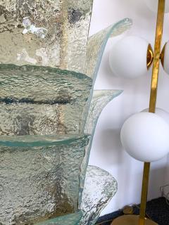 Carlo Nason Floor Lamp Cactus LT 320 by Carlo Nason for Mazzega Murano 1970s - 1035364