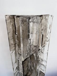 Carlo Nason Floor Lamp Tower Murano Glass by Carlo Nason for Mazzega Italy 1970s - 2011517