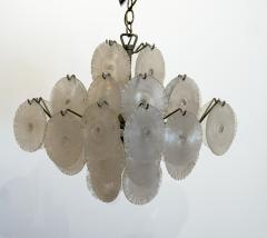 Carlo Nason Italian Modern opalescent glass chandelier - 1224695
