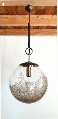 Carlo Nason Mid Century Modern Murano glass pendant light by Carlo Nason for Mazzega - 968024