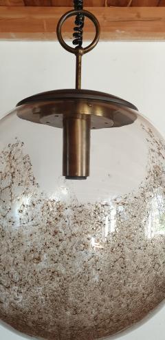 Carlo Nason Mid Century Modern Murano glass pendant light by Carlo Nason for Mazzega - 968025