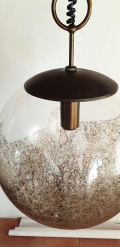 Carlo Nason Mid Century Modern Murano glass pendant light by Carlo Nason for Mazzega - 968033