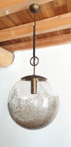 Carlo Nason Mid Century Modern Murano glass pendant light by Carlo Nason for Mazzega - 968036